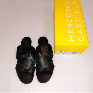 Mercedes Castillo Carlein Slide Leather Sandals